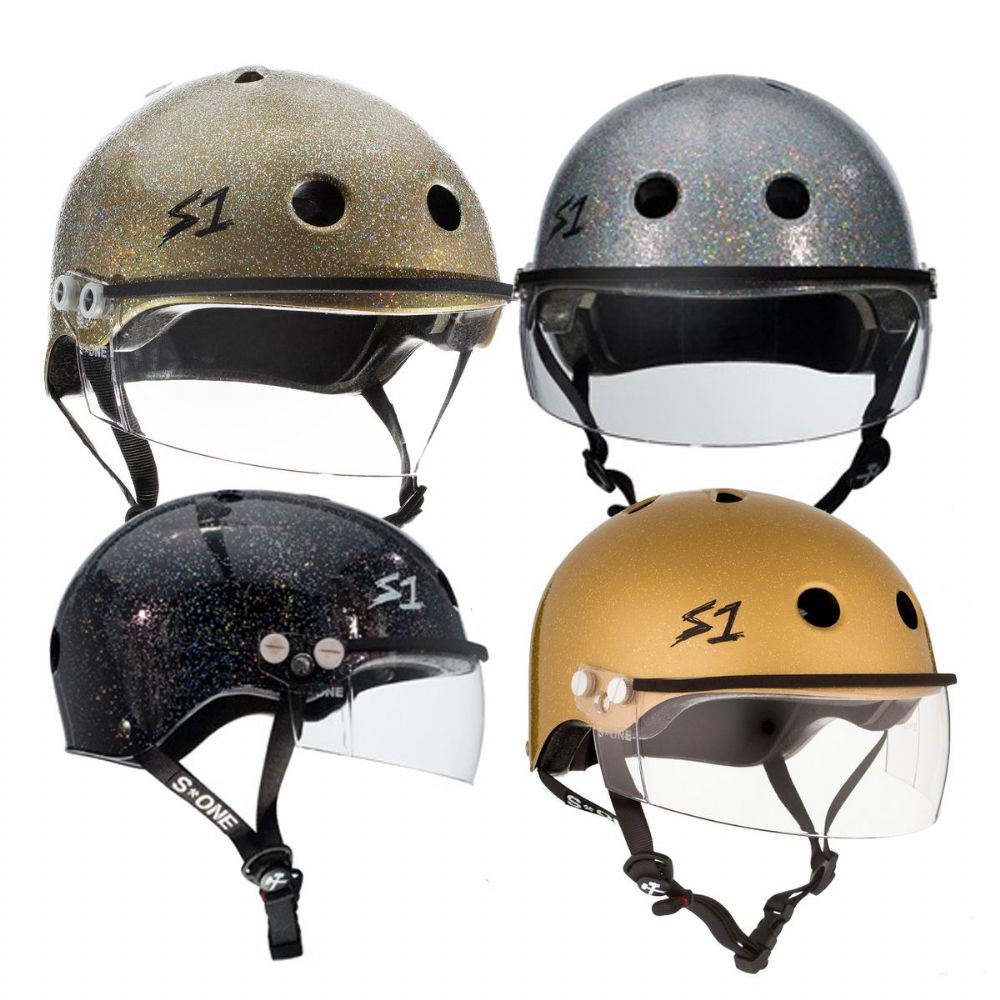 S1 Lifer Helmets Inc Visor - Glitter